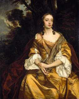 Peter Lely, Portrait of a Lady, c. 1665. Oil on canvas. Cambridge: Fitzwilliam Museum.
