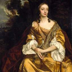 Peter Lely, Portrait of a Lady, c. 1665. Oil on canvas. Cambridge: Fitzwilliam Museum.