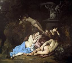 Peter Lely, Nymphs By a Fountain, early 1650s. Oil on canvas. Dulwich Picture Gallery.