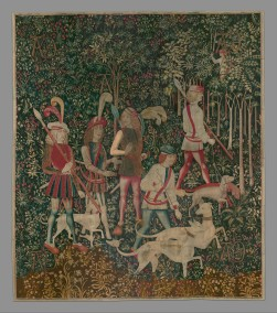 The Hunters Enter the Woods