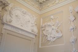 Details of plasterwork.