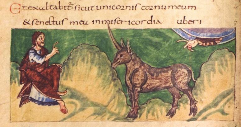 Stuttgart Psalter, fol. 108v.