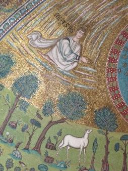 Apse Mosaic: Moyses