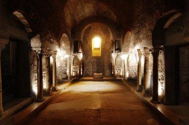Crypt, Saint Laurent, Grenoble