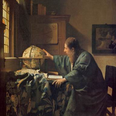 The Astronomer, 1668. Louvre (R.F. 1983-28).