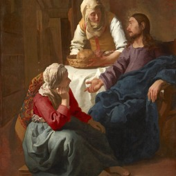 Christ in the House of Mary & Martha. National Gallery of Scotland (NG1670).