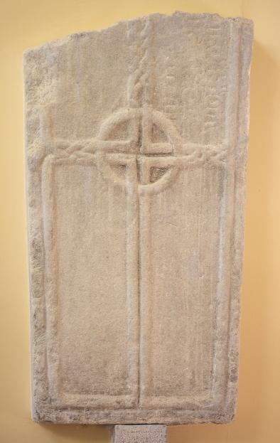 Grave Slab from Durrow (Durrow Abbey), Ireland.