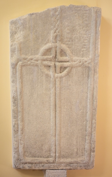 Grave Slab from Durrow (Durrow Abbey), Ireland.